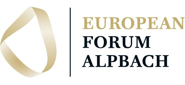 FUEN President Loránt Vincze addresses the European Forum Alpbach