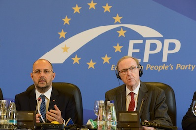 The Democratic Alliance of Hungarians in Romania is the legitimate representative of the ethnic Hungarians living in Romania – Hunor Kelemen, the President of the Alliance and Wilfried Martens, the President of the EPP have held a joint press conference o