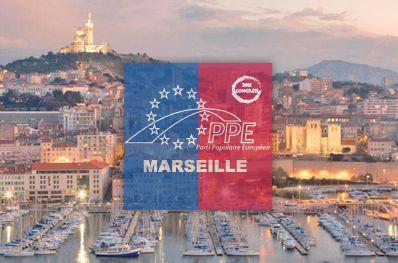 Kelemen Hunor, president of DAHR attended the EPP congress in Marseille