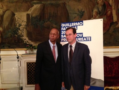 Fighting for the right to freedom - Csaba Sógor congratulated Guillermo Fariñas on his achievements