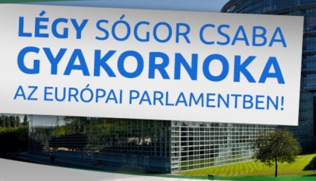 Be a trainee in MEP Csaba Sógor's office!